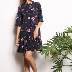 Đầm suông họa tiết hoa - xu hướng mới nhất hiện nay