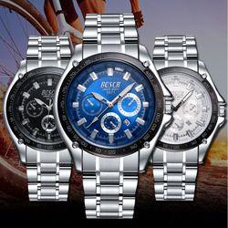 Đồng hồ nam có lịch ngày kim đồng hồ dạ quang-214