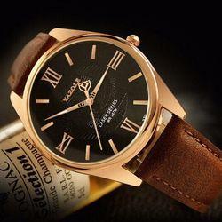 Đồng hồ dây da nam - - giá sỉ, giá tốt