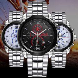 Đồng hồ thời trang nam với kim phản quang 197