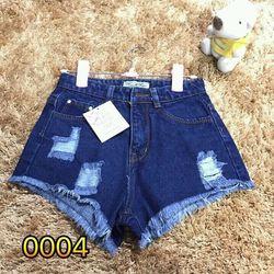 Quần jeans đùi nữ