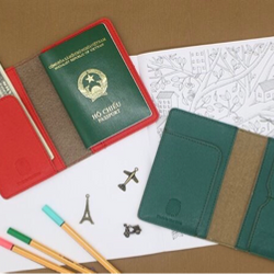 Ví passport cover