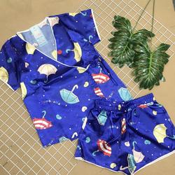 Đồ bộ kimono phi quần đùi giá sỉ