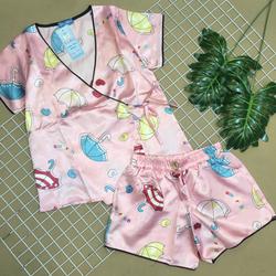 Đồ bộ kimonk phi quần đùi giá sỉ