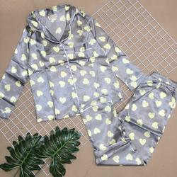 Đồ bộ pijama tay dài quần dài giá sỉ