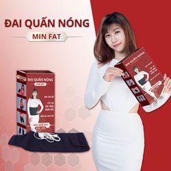 Sỉ đai quấn nóng giảm béo min fat- giá 190k- bảo hành 6 tháng giá sỉ
