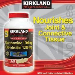 Bổ xương khớp - glucosamine chondroitin sulfate 220 viên - kirkland usa