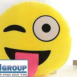 Gối biểu cảm hình mặt cười nhiều kiểu ngộ nghĩnh ms14369