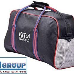 Túi xách du lịch vải dù viền màu cao cấp ms 13470