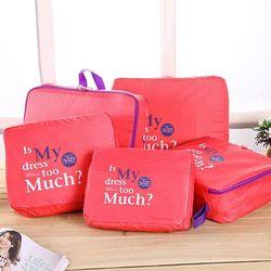 Bộ 5 túi bag in bags cao cấp