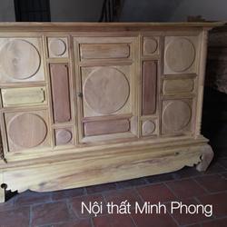 Tủ thờ gỗ gụ mít đều có các loại kích thước giá sỉ