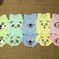 Bộ cotton cảm xúc cho bé 0 đến 3 tuổi
