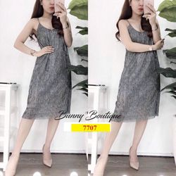 Váy yếm quảng châu 7707 giá sỉ tốt