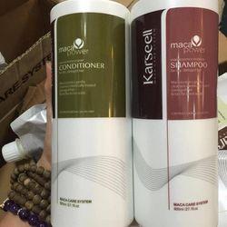 Cặp dầu gội karseell maca siêu mượt phục hồi tóc hư tổn ý800ml giá sỉ