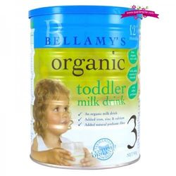 """Bellamy""""s organic 3 900gr - sữa bột cho bé từ 1-3 tuổi giá sỉ"""