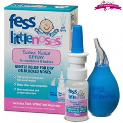Fess little noses saline nose spray15ml - thuốc nhỏ mũi cho bé