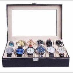 Hộp đựng đồng hồ trang sức kính