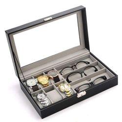 hộp đựng 6 đồng hồ và 3 kính