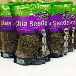hạt chia úc absolute organic chia seeds 1 kg mới giá sỉ