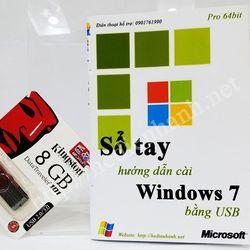 Sổ tay hướng dẫn cài windows 7 pro 64 bit bằng usb giá sỉ