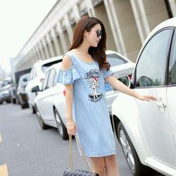 Đầm Jean cô gái  S160