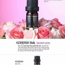 Nước hoa bím SECRET LOVE EDITTION Hàn Quốc