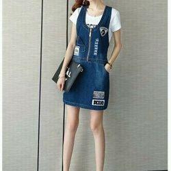 Đầm jean  có sẵn nhé khách  S160