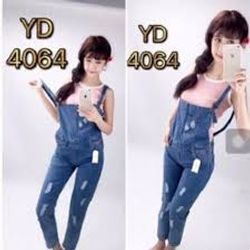 Yếm Jeans Dài
