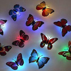 Đèn led dán tường hình bướm 3D