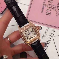 Đồng hồ nữ dây da - giá sỉ