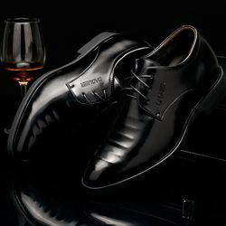 Giày tây nam thiết kế sắc sảo , chất liệu cao cấp 607