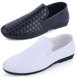 Giày lười nam thiết kế ô vuông sang trọng đẳng cấp 615