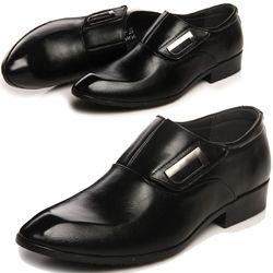 Giày tây thời trang nam chất liệu quai ngang độc đáo 610