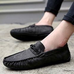 Giày lười nam thiết kế độc đáo , gam màu cổ điển dễ dàng phối đồ 618