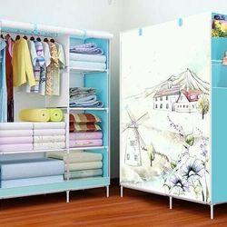 tủ quần áo 2 buồn 6 ngăn