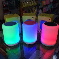 Loa Bluetooth kiêm đèn ngủ Y02 loại lớn LED nhiều màu cực đẹp