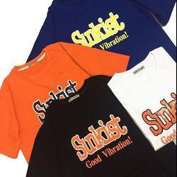 Áo thun tay lỡ Sunkist (4 màu)