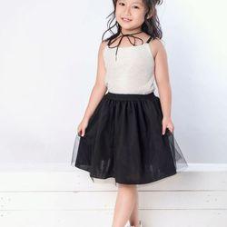 Y6 váy đen xòe áo dây
