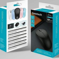Chuột không dây chính hãng Simetch S880