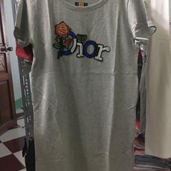 sỉ đầm thun chất vải cotton 4chiều - giá sỉ, giá tốt