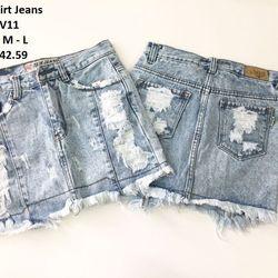 Short Váy Jeans
