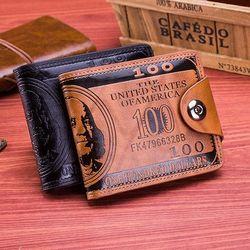 Ví da cầm tay ví tiền đô la (mẫu HOT nhất) - Mã T17