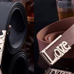 Thắt lưng nam chữ Love - ms 16560