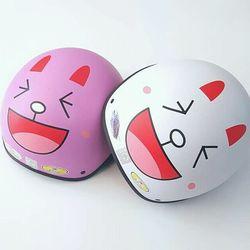 Mũ Bảo Hiểm Sticker Hình Thỏ Cười giá sỉ