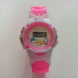 Đồng hồ thể thao dây nhựa trẻ em BABY GE218 Hồng