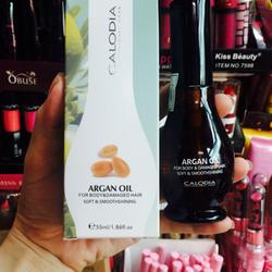 tinh dầu dưỡng bóng, phục hồi tóc hư tổn Argan Oil- Ý
