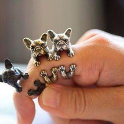 Nhẫn Chó Pug Siêu Cute giá sỉ