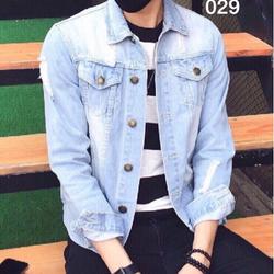 áo khoác jean nam 01
