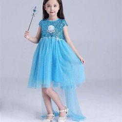 BÁN SỈ - Đầm công chúa Elsa kim sa