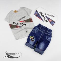☘️ Set bộ bé trai + quần jean Fashionb
